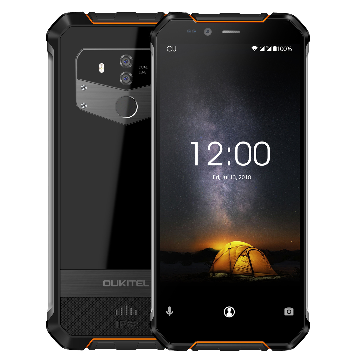 Wholesale orange original oukitel wp1 4g mobile phone from for Orange mobel