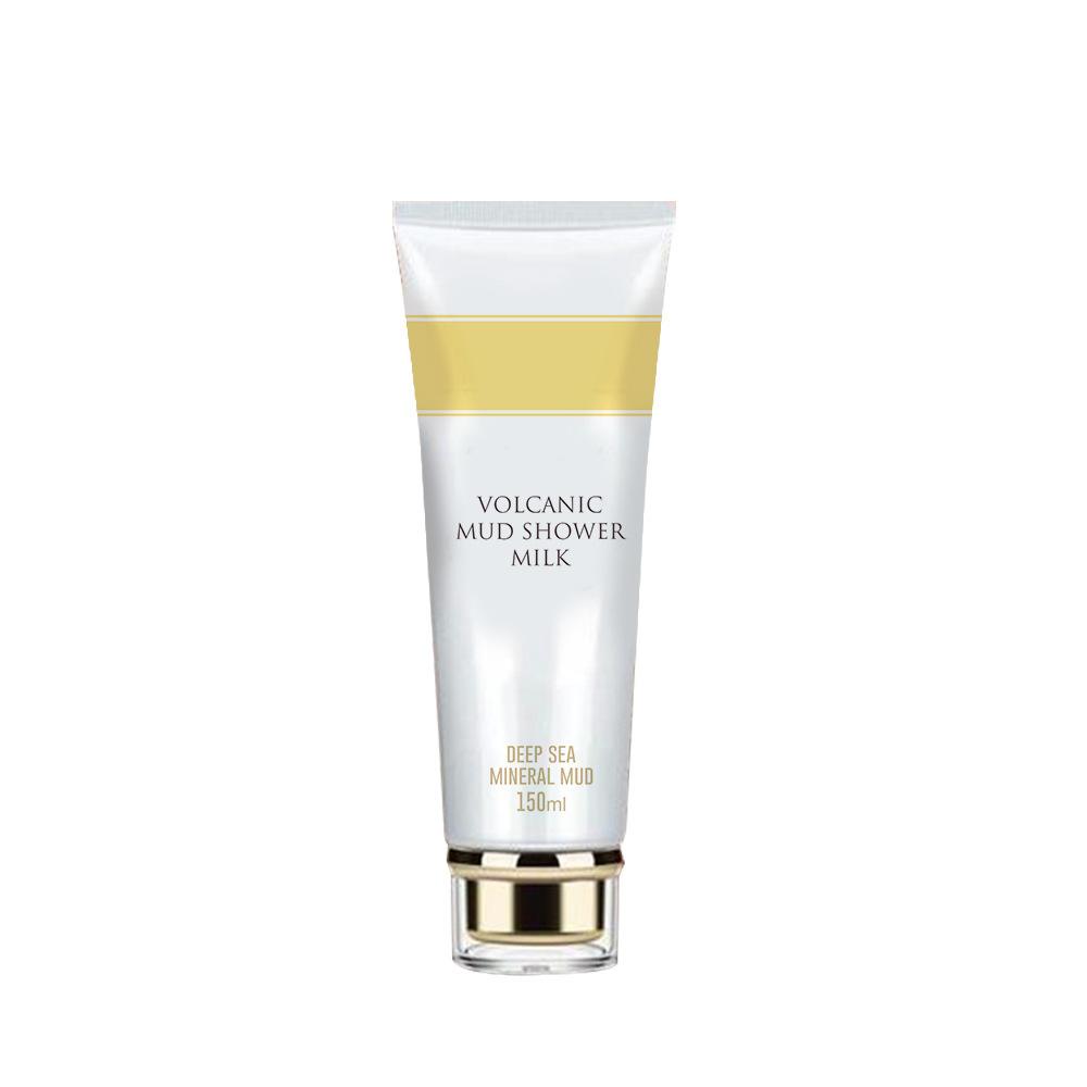 Healthy Volcanic Mud Shower Gel Whitening Formulas Deep Bath Body Milk Cream