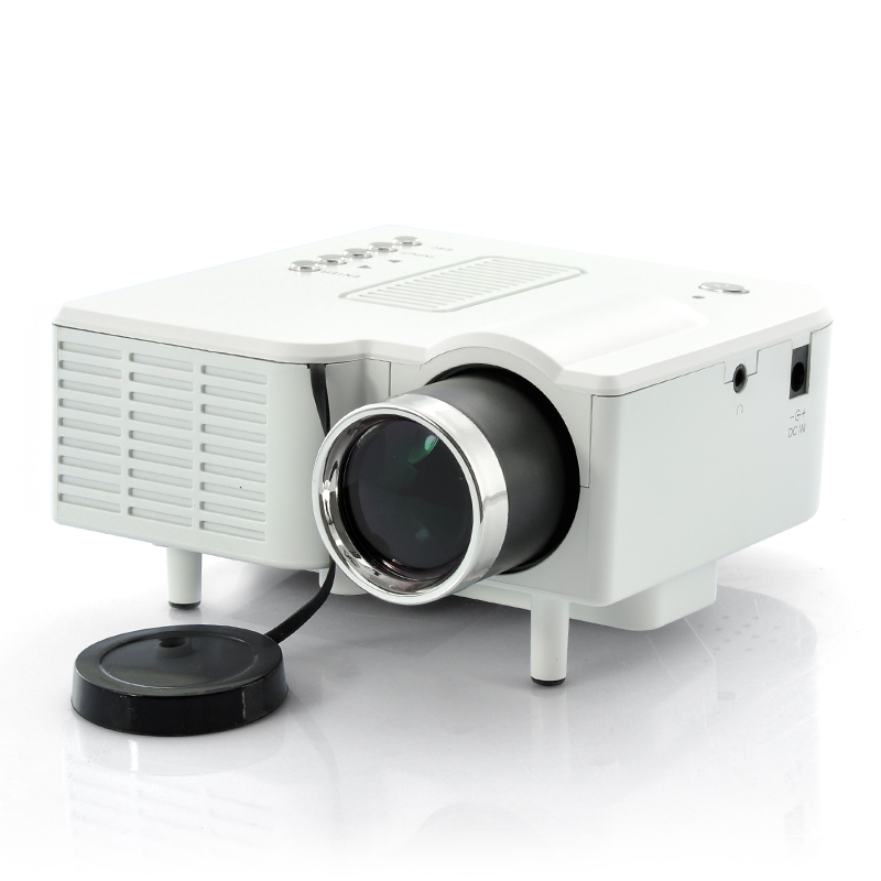Wholesale mini led projector portable video projector for Small video projectors reviews