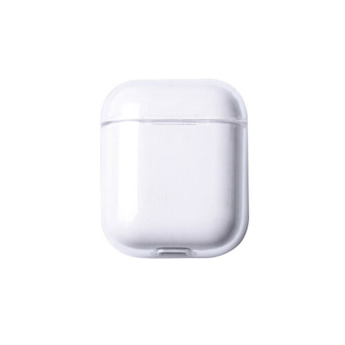 For Apple AirPods Transparent Case Cover AirPod Candy Color Hard PC Protector Transparent