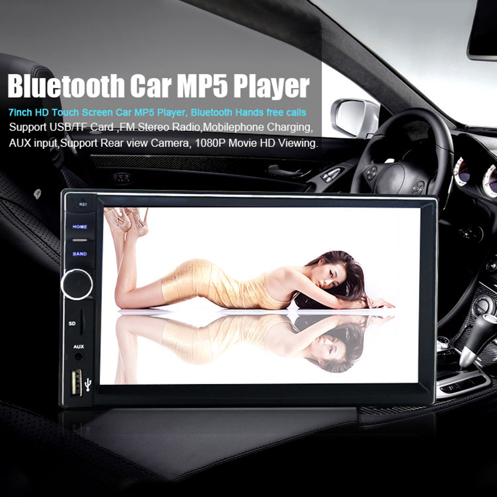 7018B Double 2 Din Car Video Player