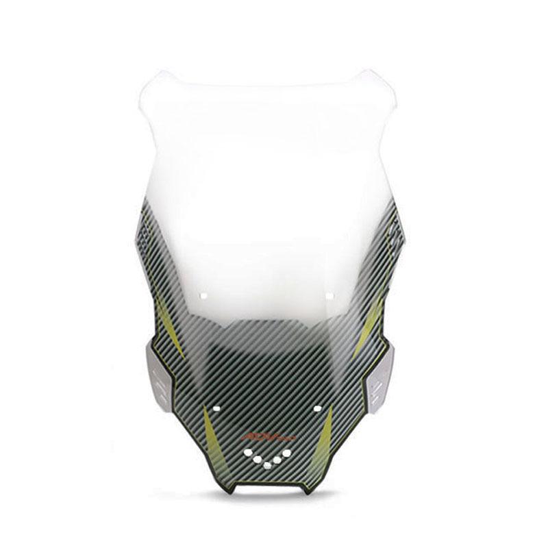 Motorcycle Windscreen Windshield Wind Screen Board Deflector Glass for honda X-ADV150 19-20 Transparent