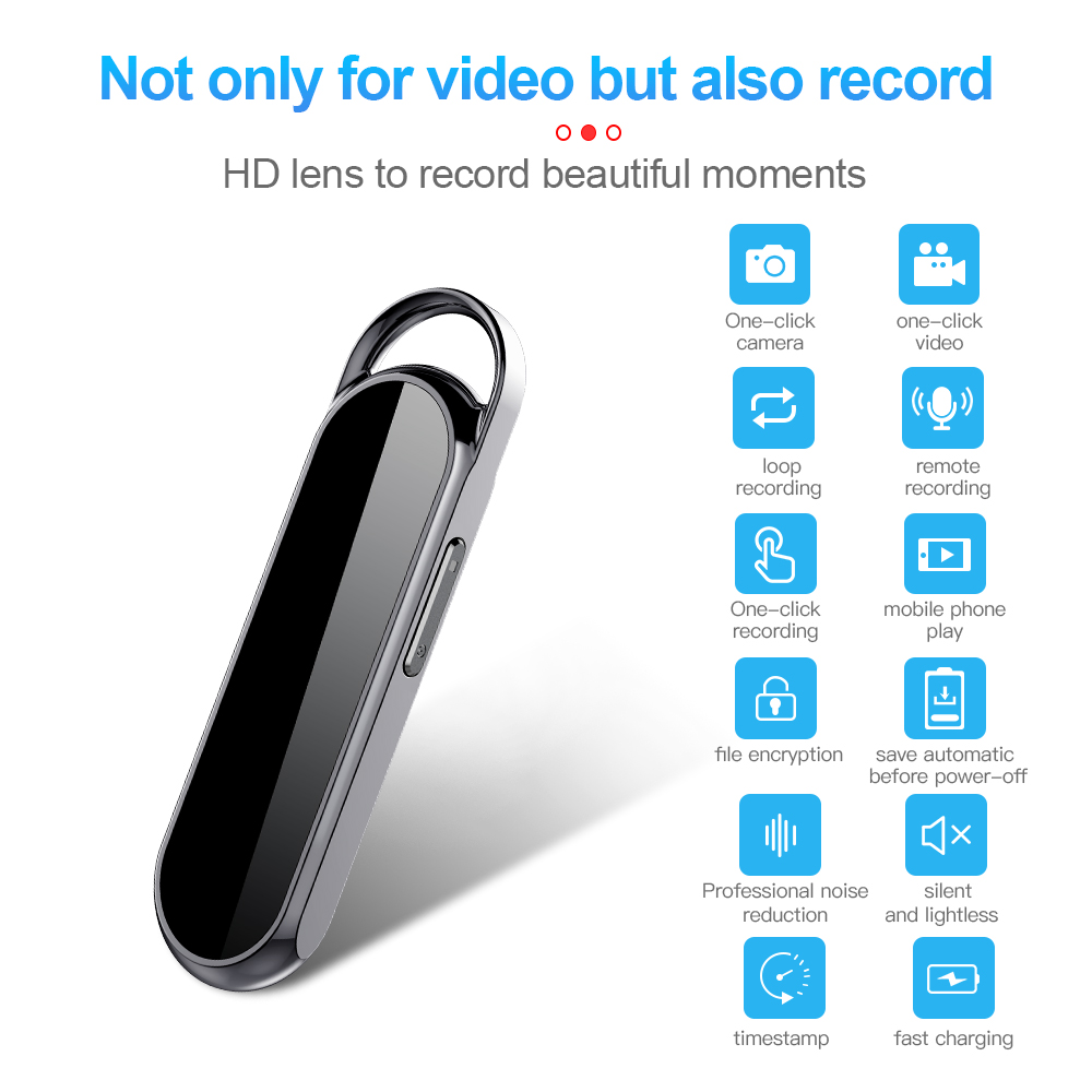 Multi-function Camera Recorder Pen Intelligent Hd Super Long Standby Multi-function video recorder pen