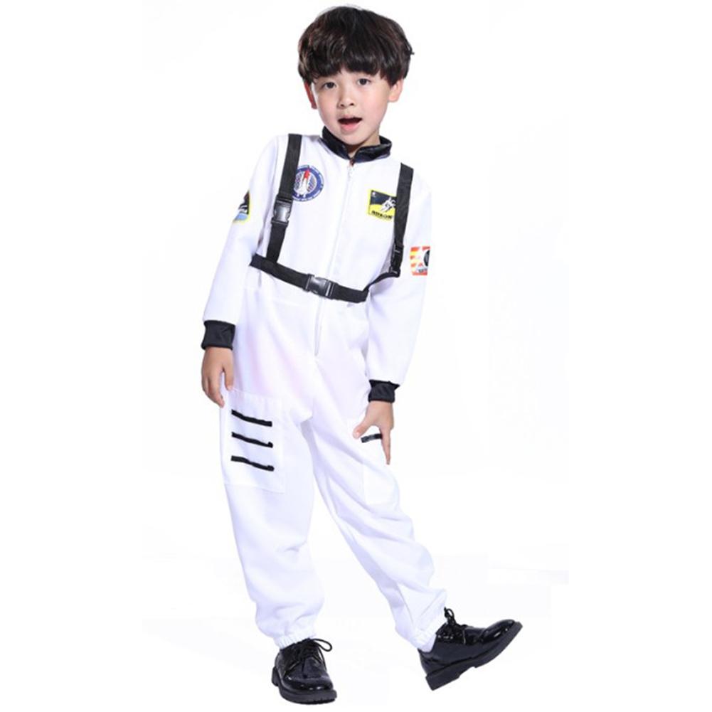 Kids Superhero Halloween Dress Up Costume - Astronaut toys for girls white_L