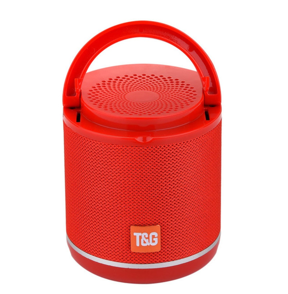 TG518 Bluetooth Speaker Phone Holder TWS Series FM Card Subwoofer Wireless Outdoor Portable Bluetooth Small Speaker red