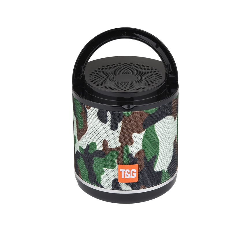 TG518 Bluetooth Speaker Phone Holder TWS Series FM Card Subwoofer Wireless Outdoor Portable Bluetooth Small Speaker camouflage