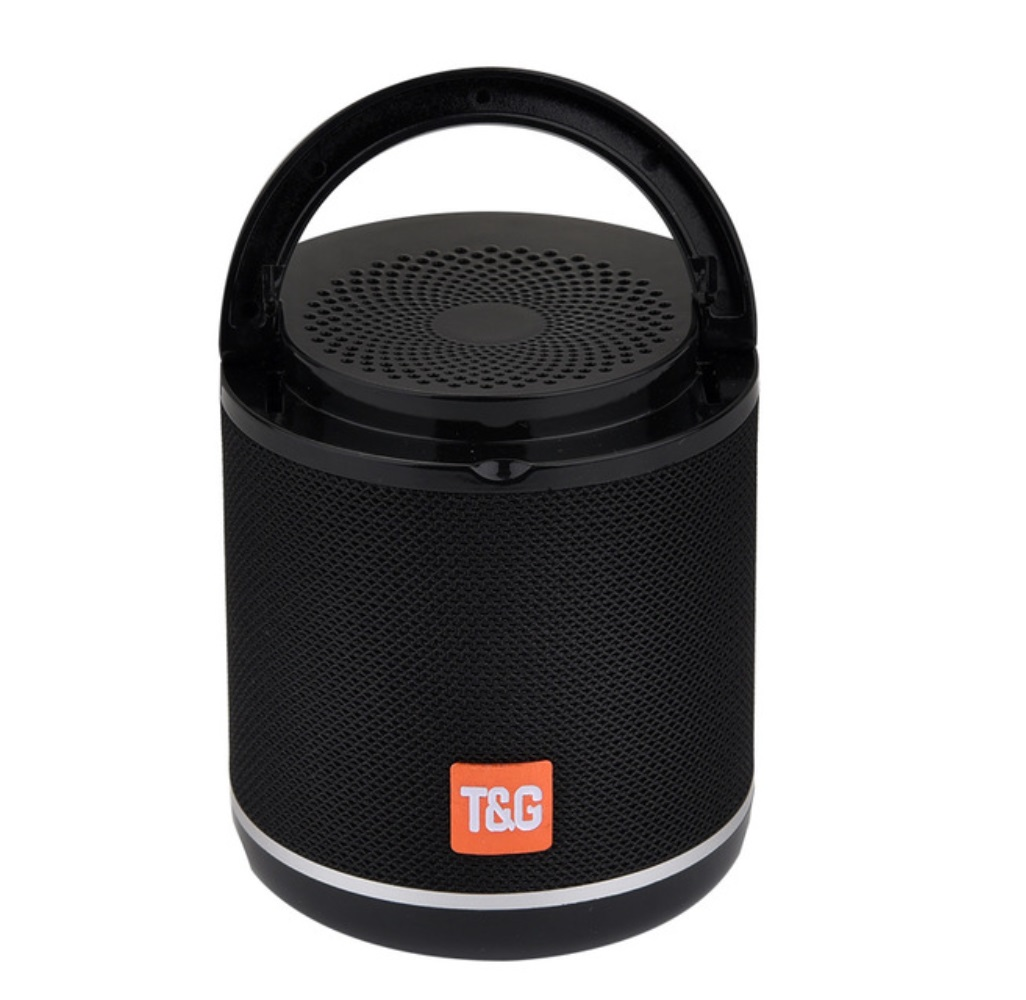 TG518 Bluetooth Speaker Phone Holder TWS Series FM Card Subwoofer Wireless Outdoor Portable Bluetooth Small Speaker black