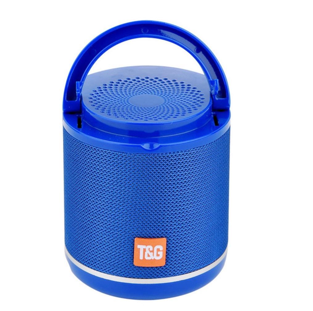 TG518 Bluetooth Speaker Phone Holder TWS Series FM Card Subwoofer Wireless Outdoor Portable Bluetooth Small Speaker blue