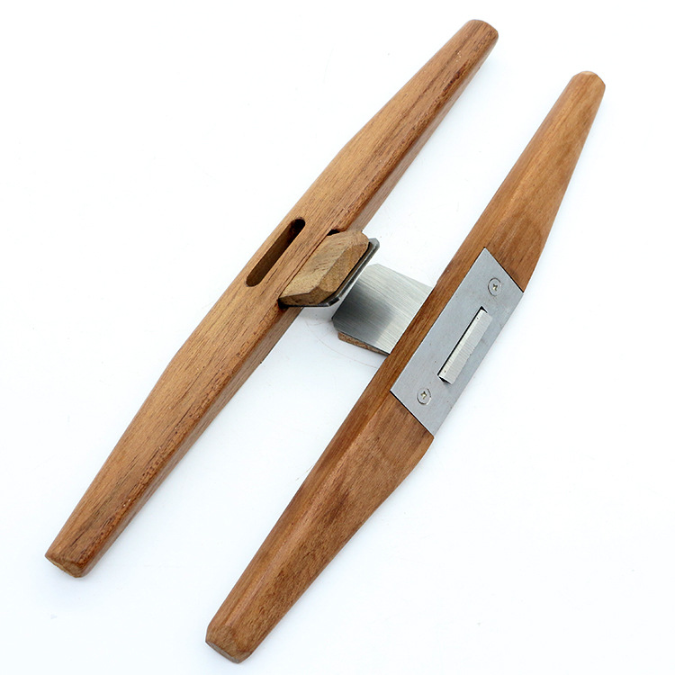 Woodworking Hand Planer Carpenter Plane Rosewood Bird Flat Planer Wooden Slotted Trimming Tools Wood color