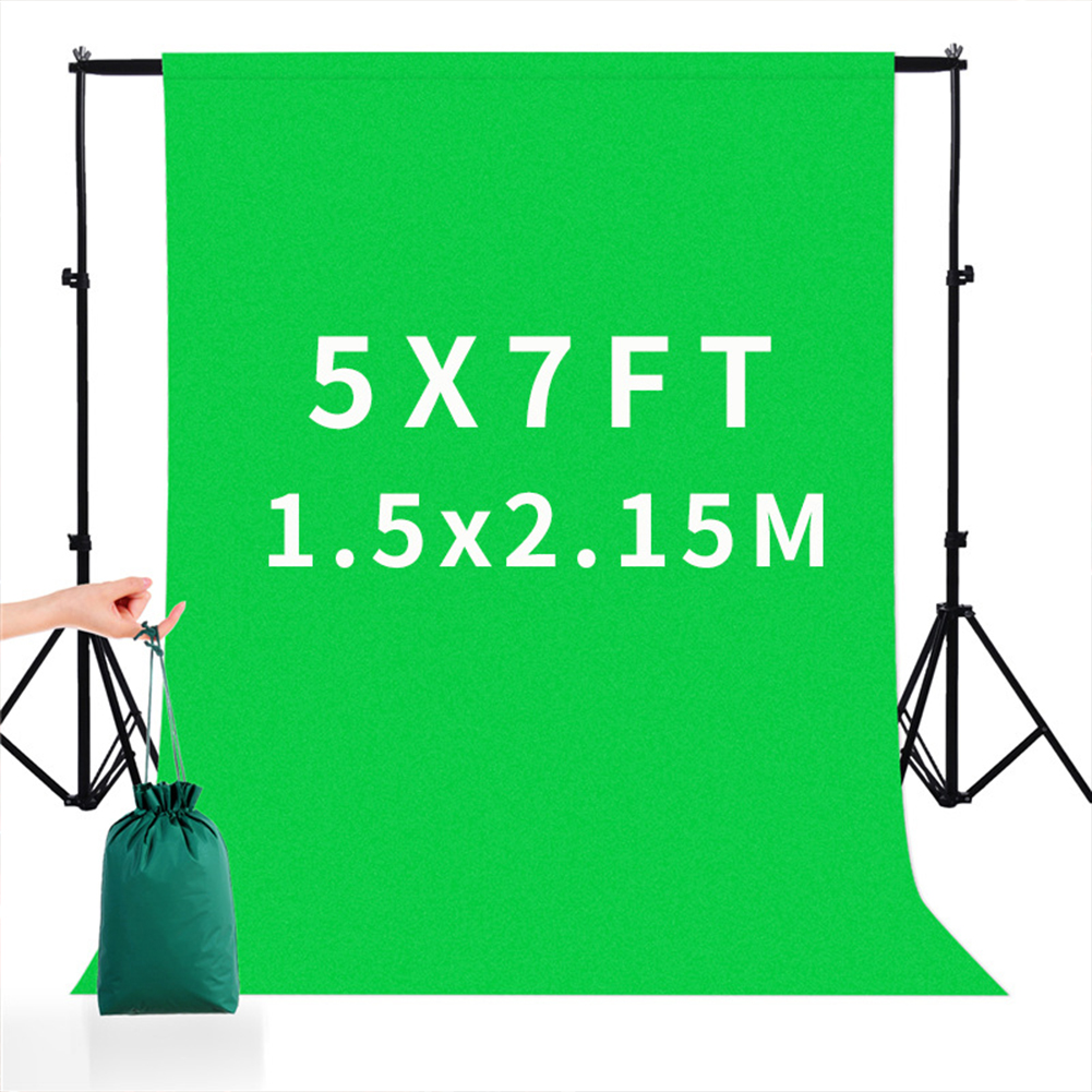 5*7FT/1.5M*2.15M  Square Cloth Nylon Green Background  Cloth For Photography Live Background green