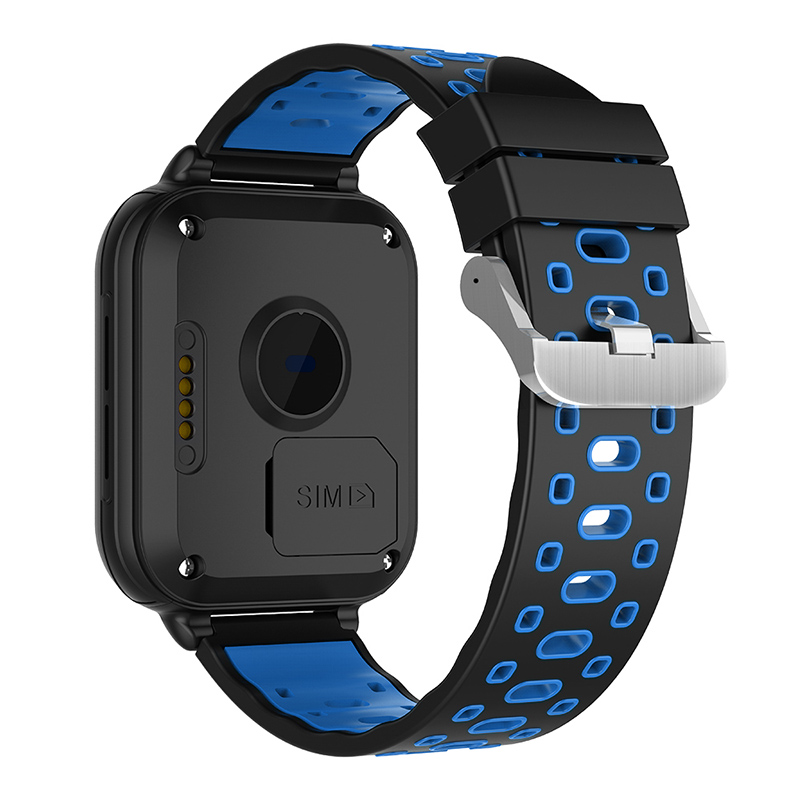 Finow Q1 Pro Android Smart Watch - 4G, 1.54 Inch Touch Screen, Pedometer, Heartrate Sensor, Android 6.0, 2MP Camera (Blue)