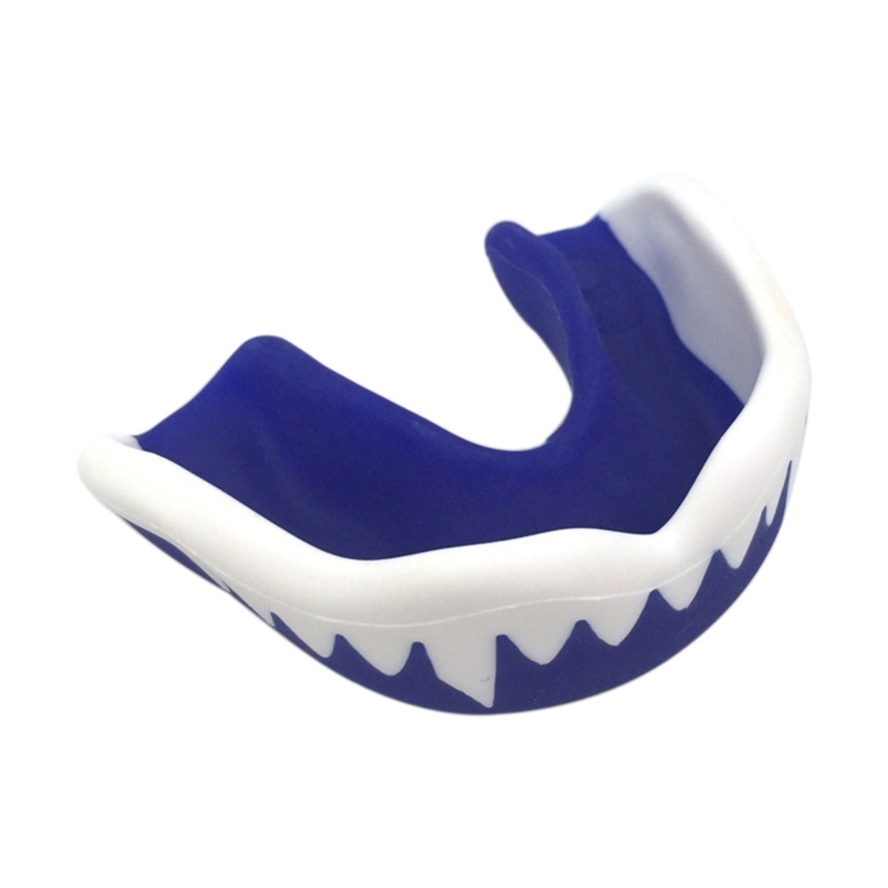 Adult Mouthguard Mouth Guard Teeth Protect for Boxing Football Basketball Karate Muay Thai Safety Protection blue