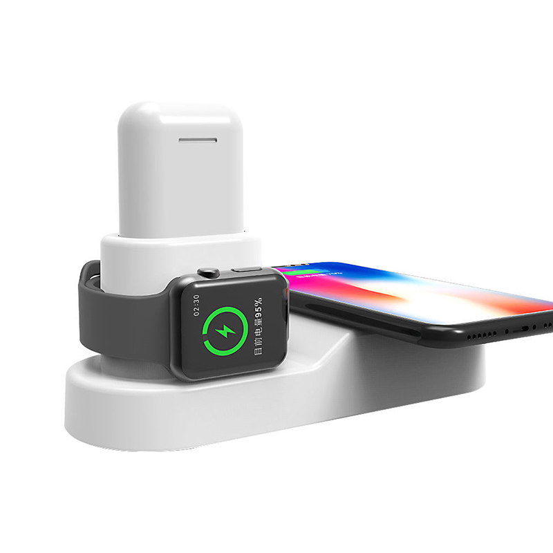 4 in 1 Qi Wireless Charger Fast Charging Dock
