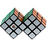 [EU Direct] ThinkMax® Double 3x3 Cube Black (difficulty 9 of 10)