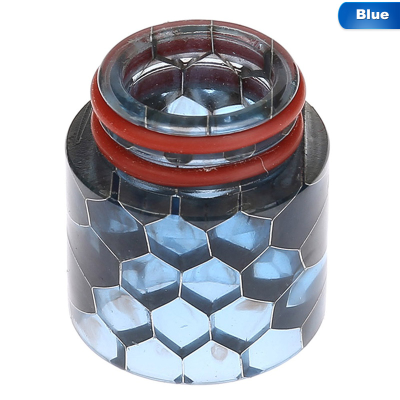 Snake Drip Tip Resin 810 Mouthpiece - Blue