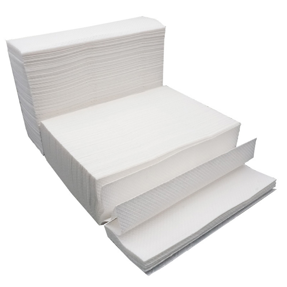 1/5 Bags 200 Sheets Thicken Napkin 3 Folding Tissue for Bathroom Toilet 5 bags