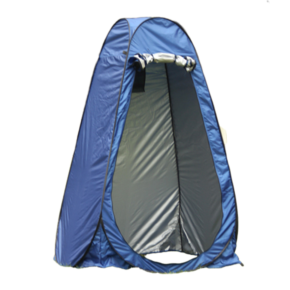 Changing Tent Room Portable Outdoor Instant Quick-opening Privacy Camping Shower Toile sapphire_Double