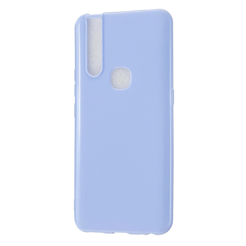 For VIVO V15/V15 Pro Cellphone Cover Slim Thin TPU Case Shock Absorption Mobile Phone Protective Cover  Taro purple