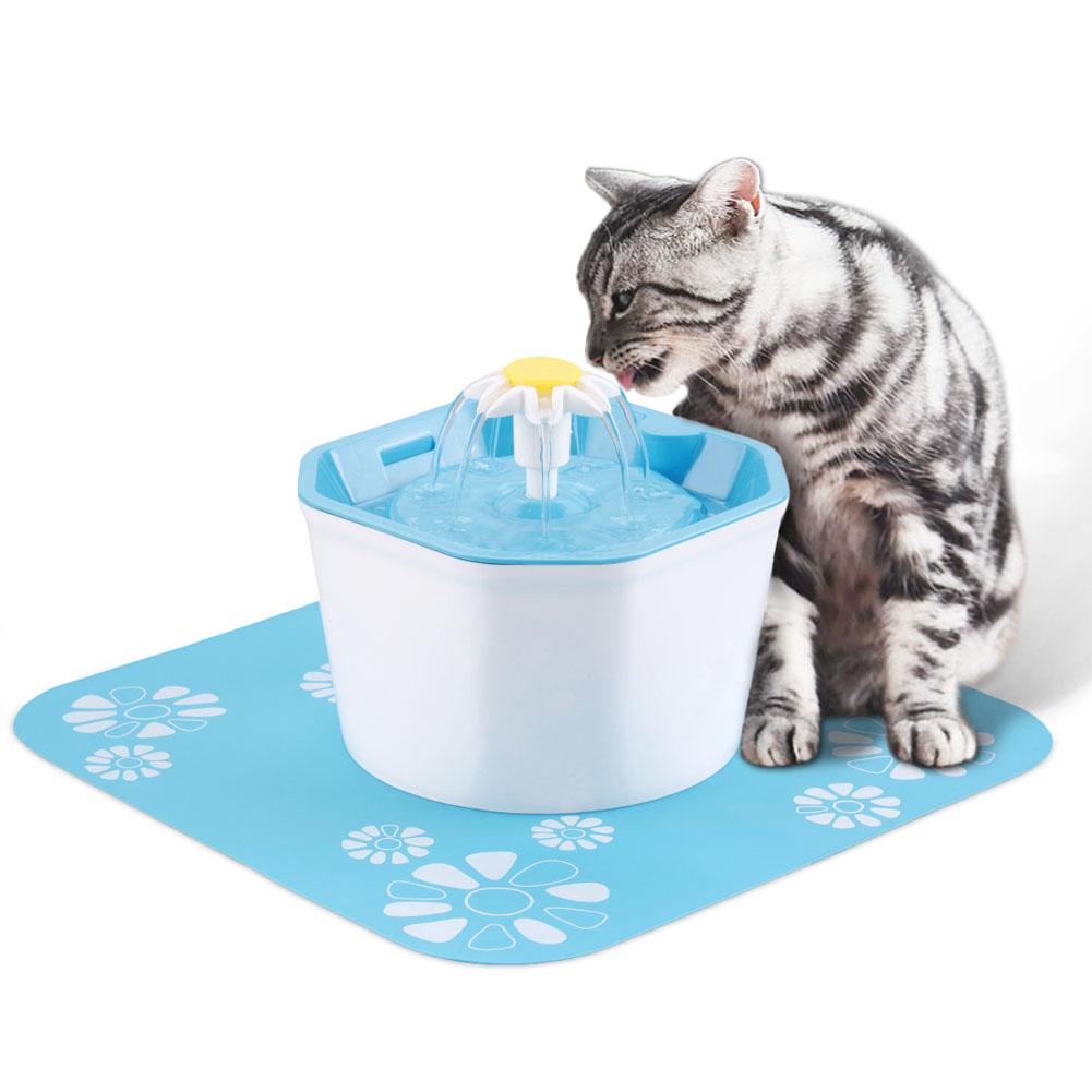 Pet's Water Dispenser Ultra-quiet Household Pet Water Dispenser blue