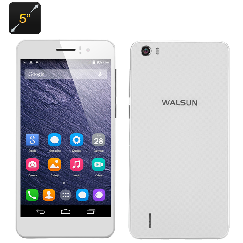 Walsun X6 Android Smartphone (White)