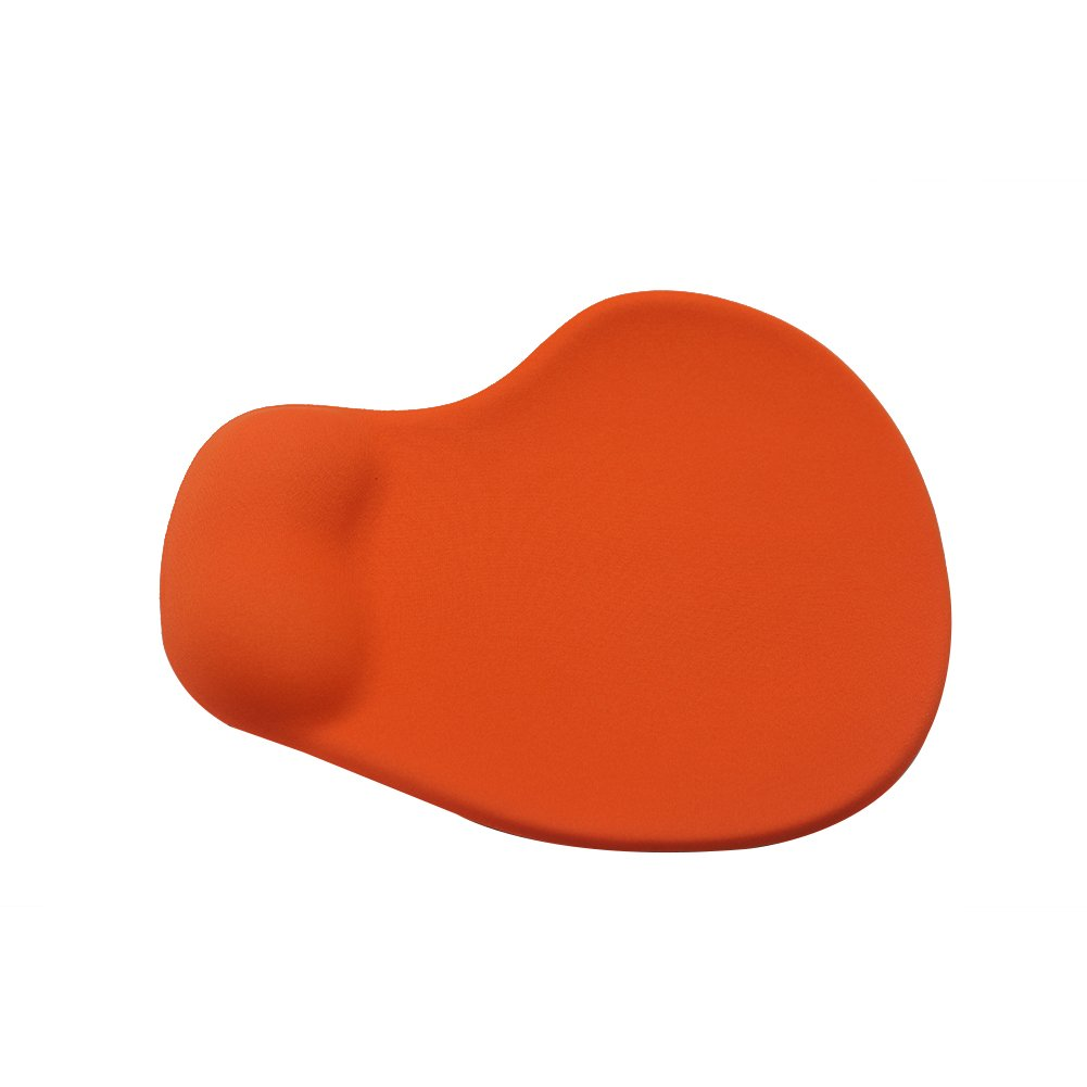 Office Mousepad with Gel Wrist Red