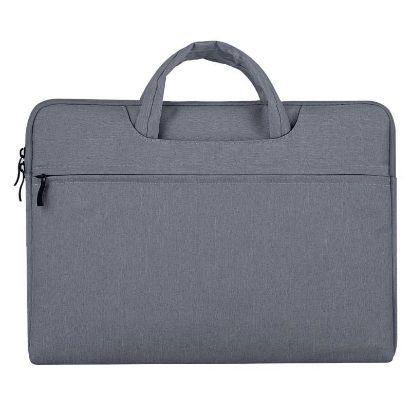 Portable Storage Bag Oxford Cloth Laptop Bag Waterproof Protective Storage Bag Dark gray_13.3 inches