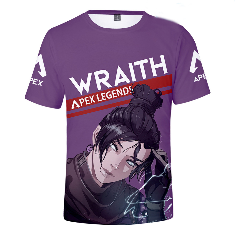 Fashion Game 3D Apex Legends Printing Short Sleeve T-Shirt  N2_S