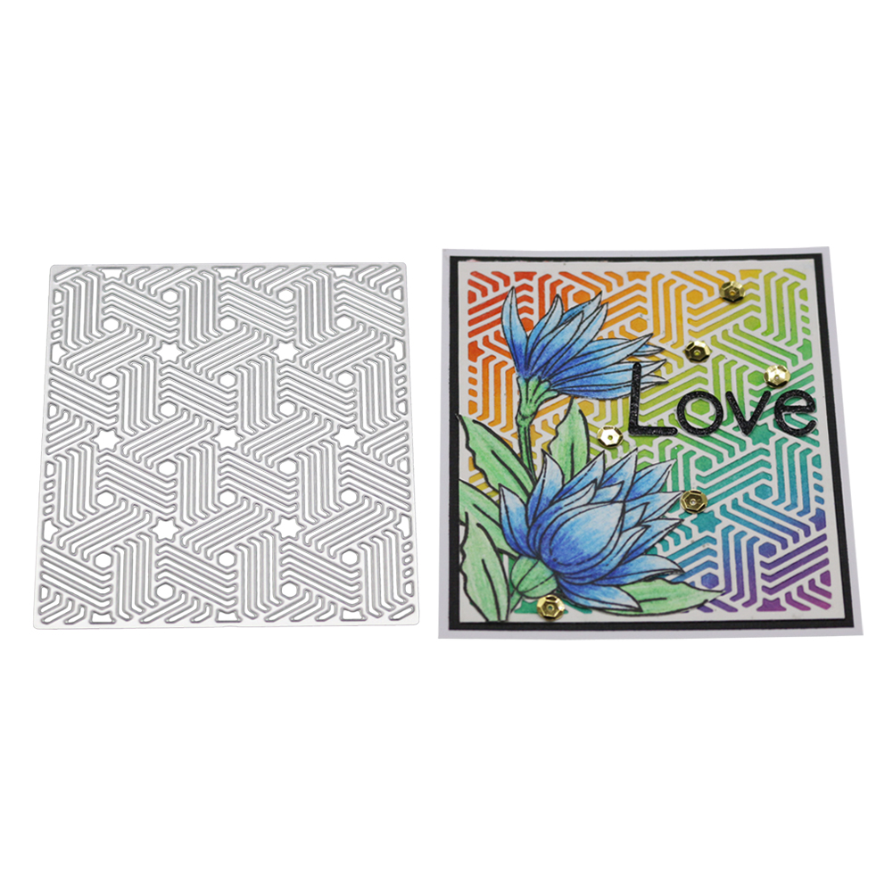 DIY Etching Carbon Steel Cutting Dies for Scrapbook Background/Invitation Lace/Greeting Card Decor 2100029