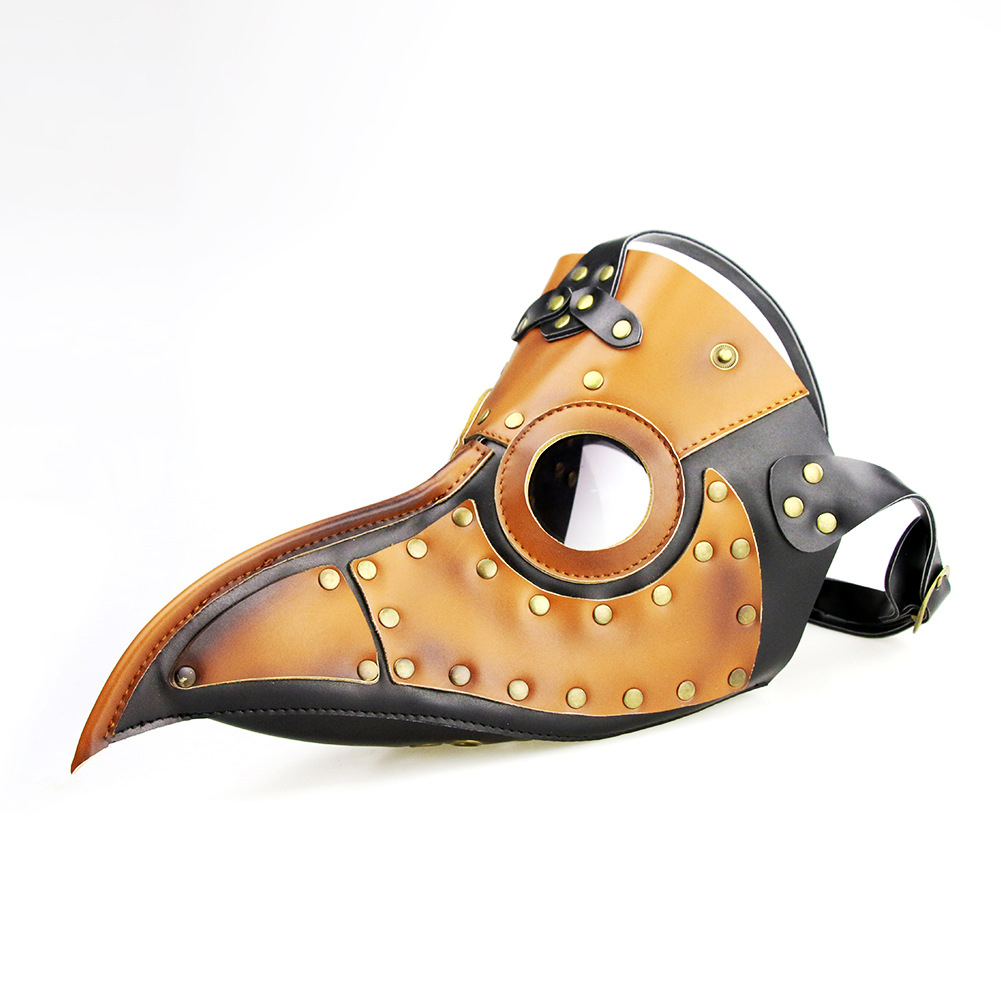 Unique Steampunk Beak Mask for Halloween Party Cosplay Props