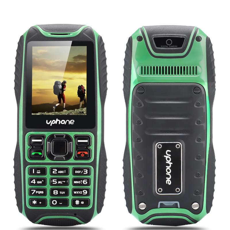 Uphone U3A IP67 Rugged Phone (Green)