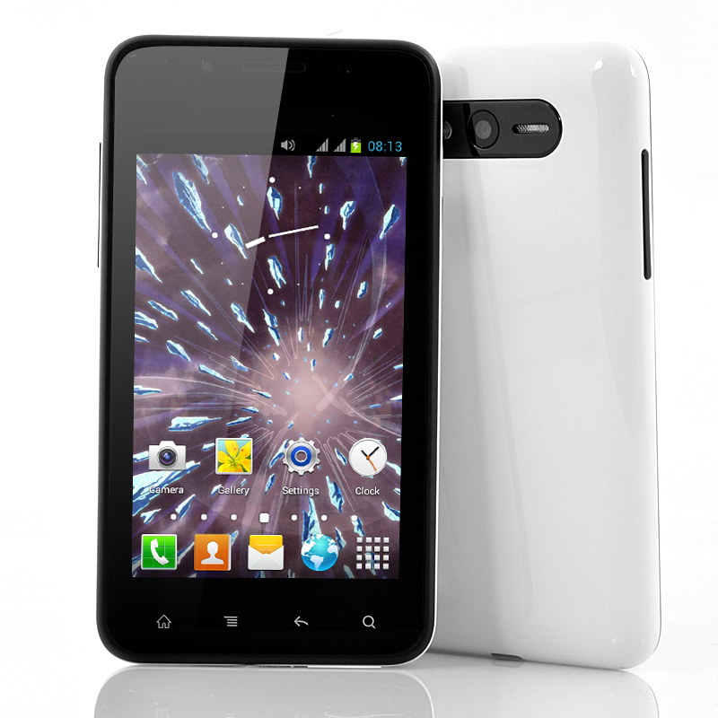 4 Inch Cheap Android Phone - Hail (W)