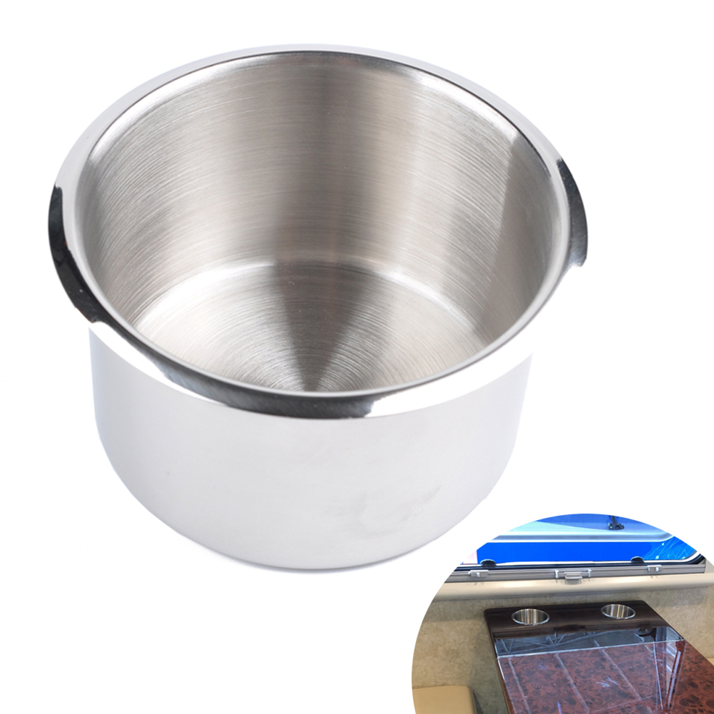 Professional Rv Modified Stainless Steel Cup Holder 9*5.5CM_A0671-03