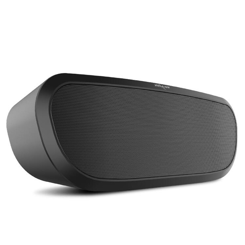 Portable Wireless Bluetooth Subwoofer Speaker Double Horn Stereo Music Player Support TF Card USB 12h Music Play Black