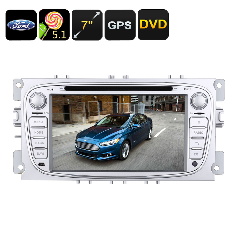 2 DIN Car DVD Player Ford Mondeo