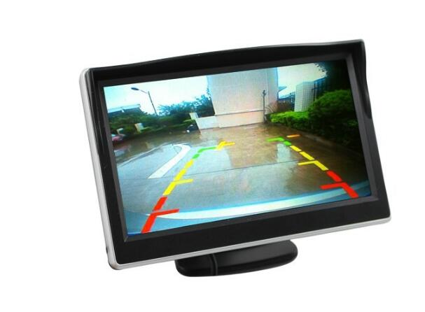5 Inch Mirror Monitor w/ Touch Buttons