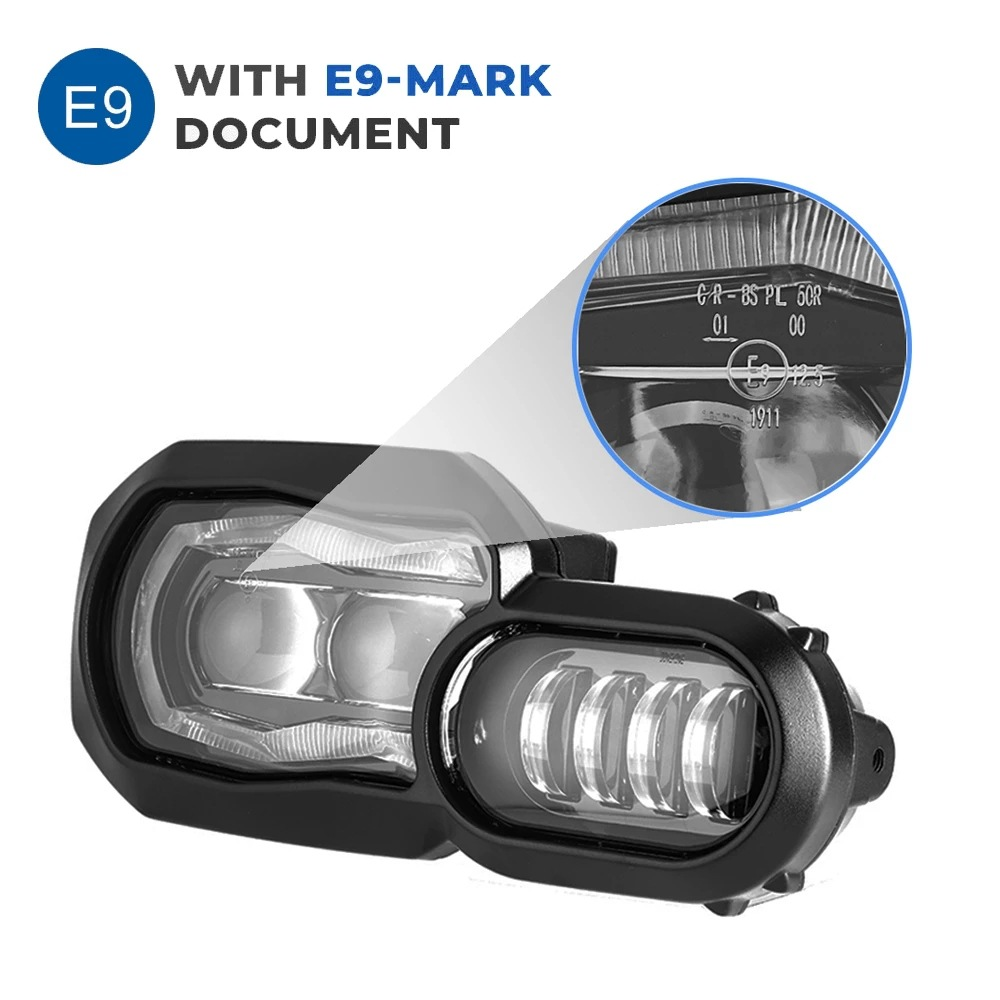 Motorcycle Lights Headlight For F650 700 800gs Adventure Motorcycles Complete Led Projector Headlight Assembly Boxed