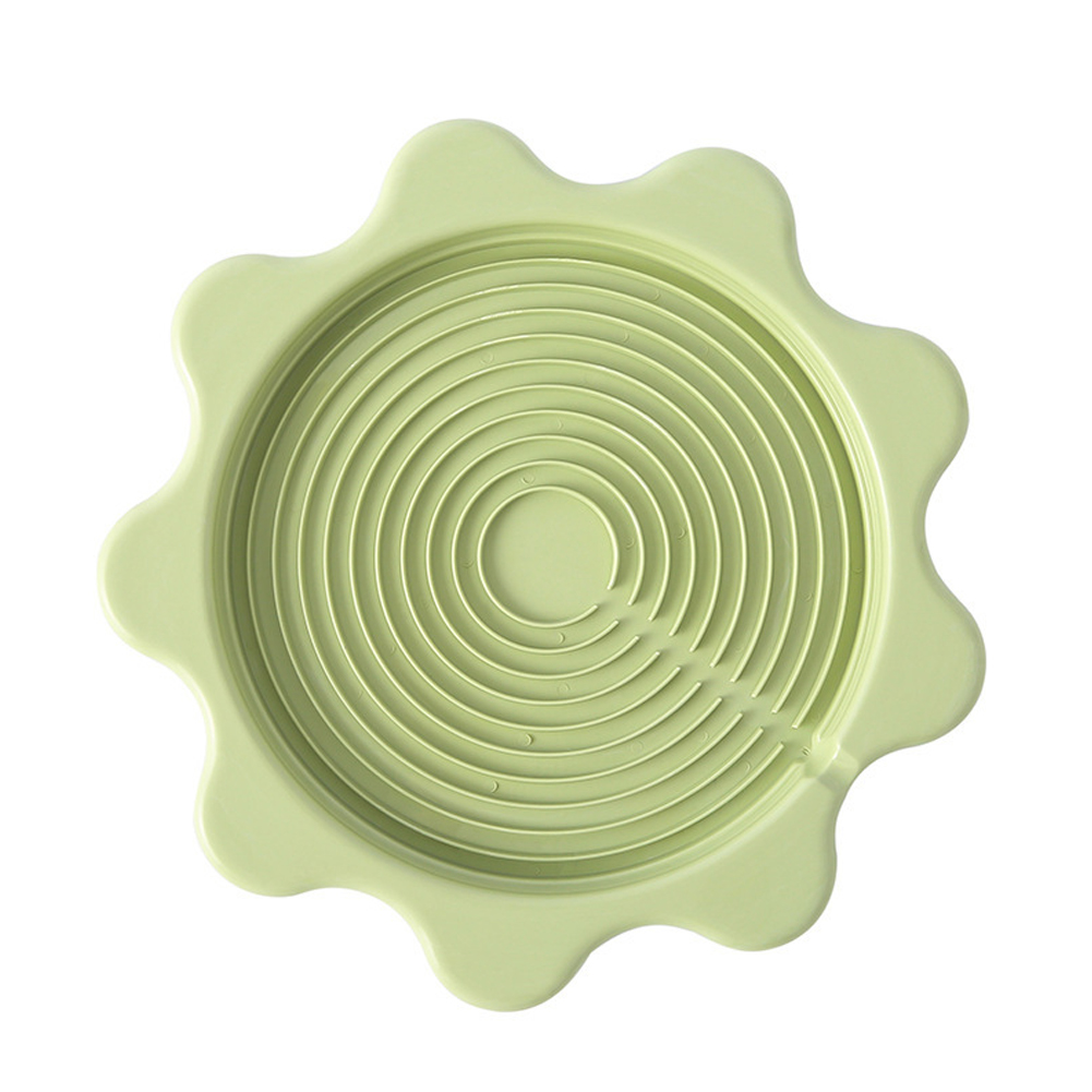 Insulation Pad Anti Scalding Drain Tray Coaster for Home Kettle green