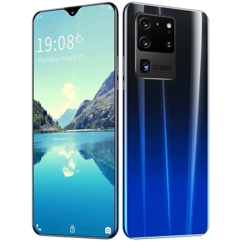 6.26 inch S20U Smartphone RAM1GB+ 8GB ROM Bluetooth 5.0 Android 5.1 HD720*1560 Screen Cellphone Navy blue_British plug
