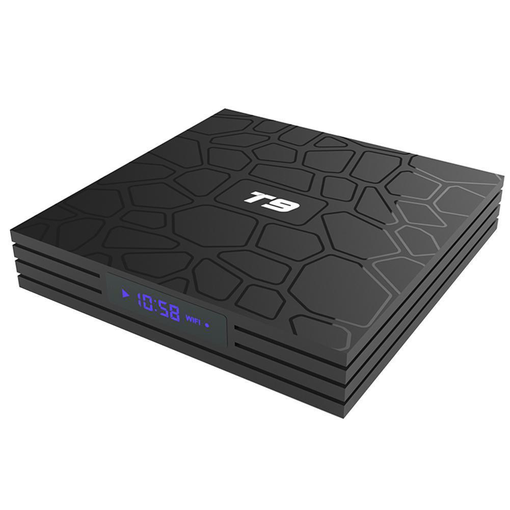 T9 WIFI 4K BT Smart TV Box US Plug