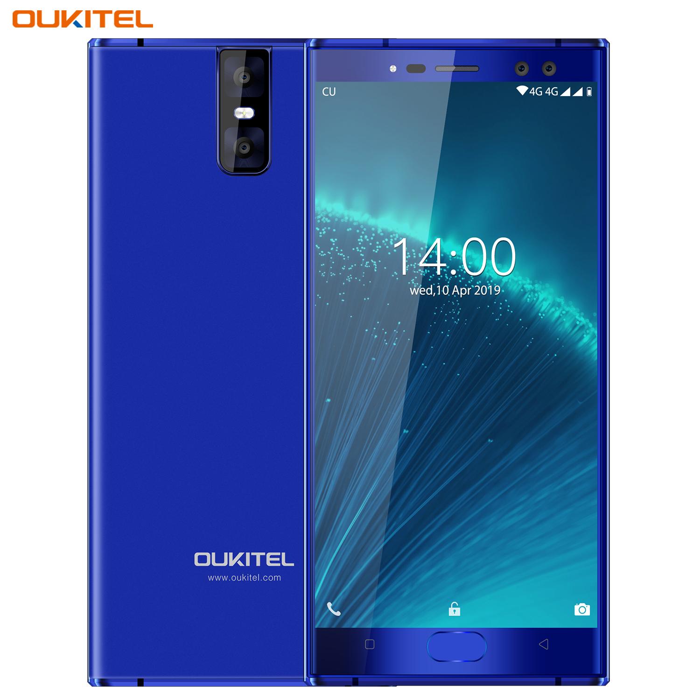 Oukitel K3 Pro Quad Core 5.5 inch 8000mAh Battery 5MP+13MP Camera 1440x720 Resolution 32GB+4GB Mobile Phone Smartphone Blue