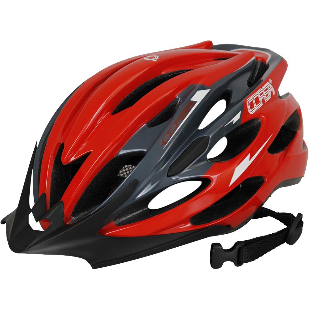 Breathable MTB Bike Bicycle Helmet Protective Gear Red black_Universal