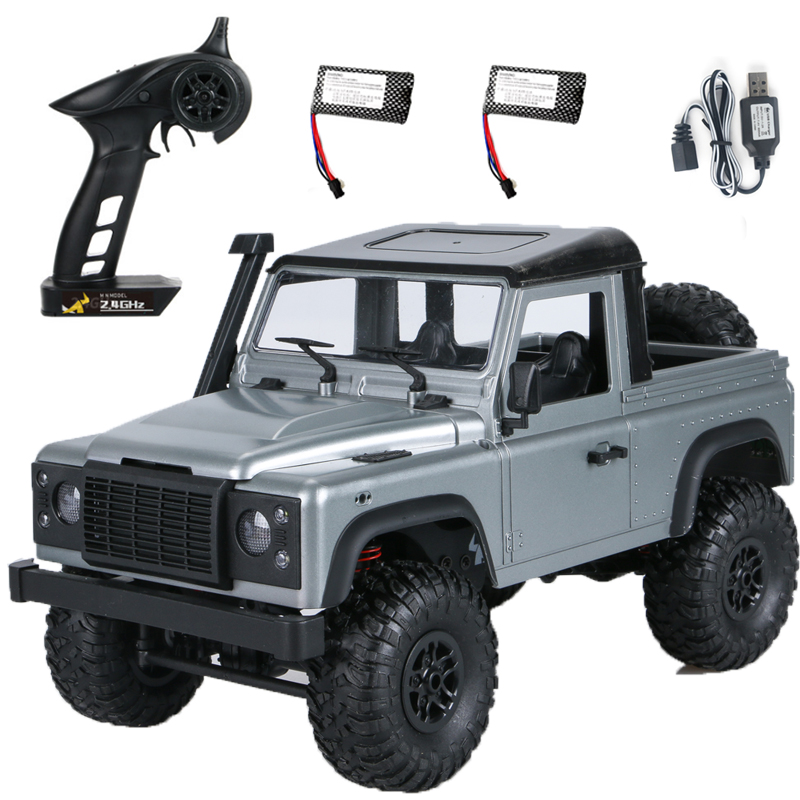 RC Cars MN 99S-A 1:12 4WD 2.4G Radio Control RC Cars Toys RTR Crawler Off-Road Buggy For Land Rover Vehicle Model Pickup Car Dual battery