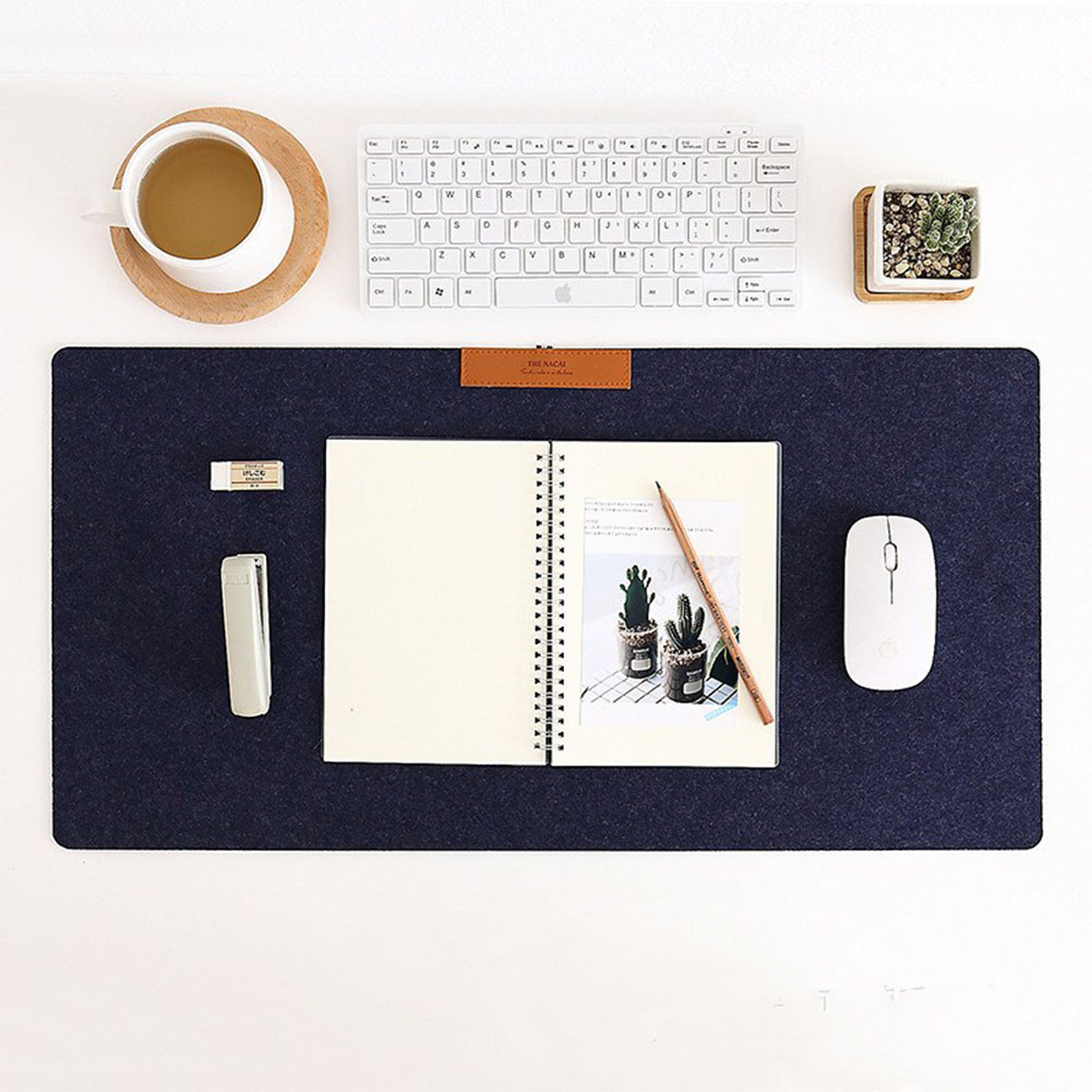 Simple Warm Felt Cloth Office Table Computer Mouse Pad Desk Keyboard Game Mouse Mat