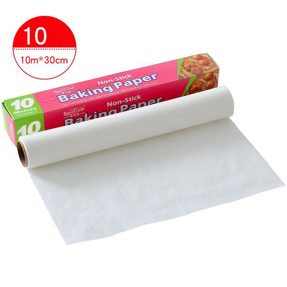 Bakeware Baking Cooking Paper Rectangle Baking Sheets for Kitchen Bakery BBQ Party 10 m