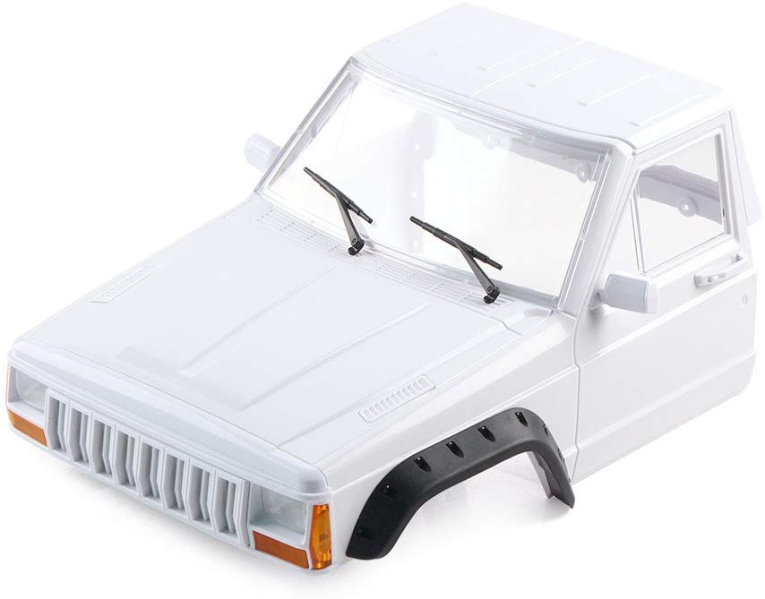 RC Cherokee Body Cab & Back-Half Cage for 1/10 RC Crawler Traxxas TRX4 Axial SCX10 90046 Cab
