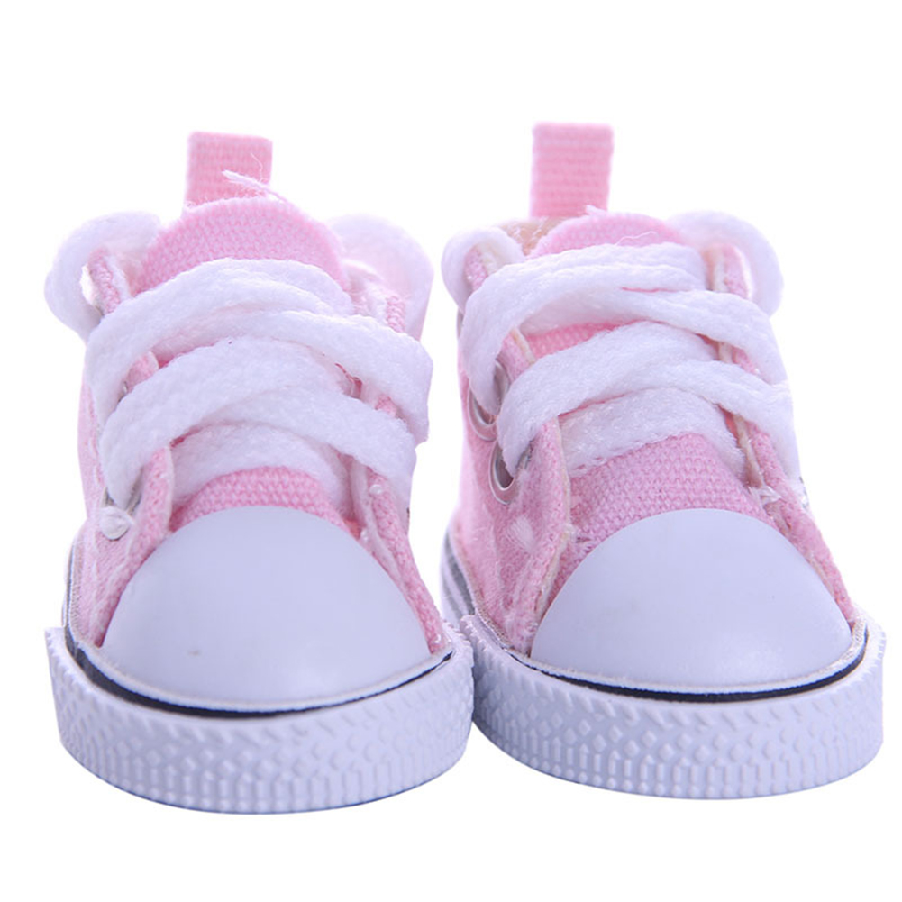 5CM Fashion Denim Canvas Mini Toy Shoes
