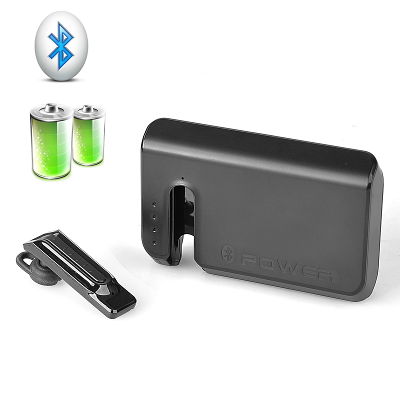 7800 mAh Power Bank with Bluetooth Earphone