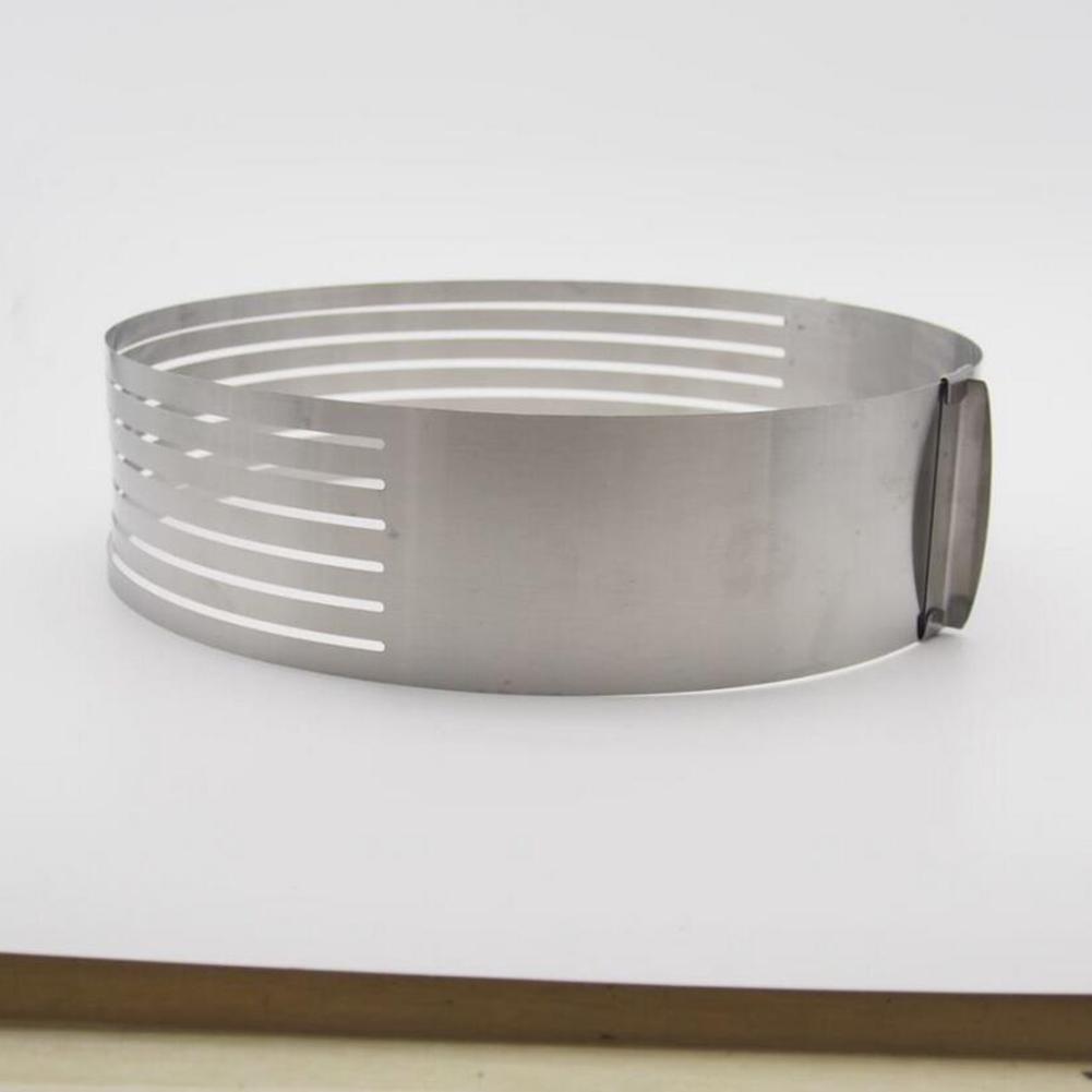 Cake Slicer Stainless Steel Round Bread Cake Cutter Mold DIY Kitchen Baking Accessories Stainless steel