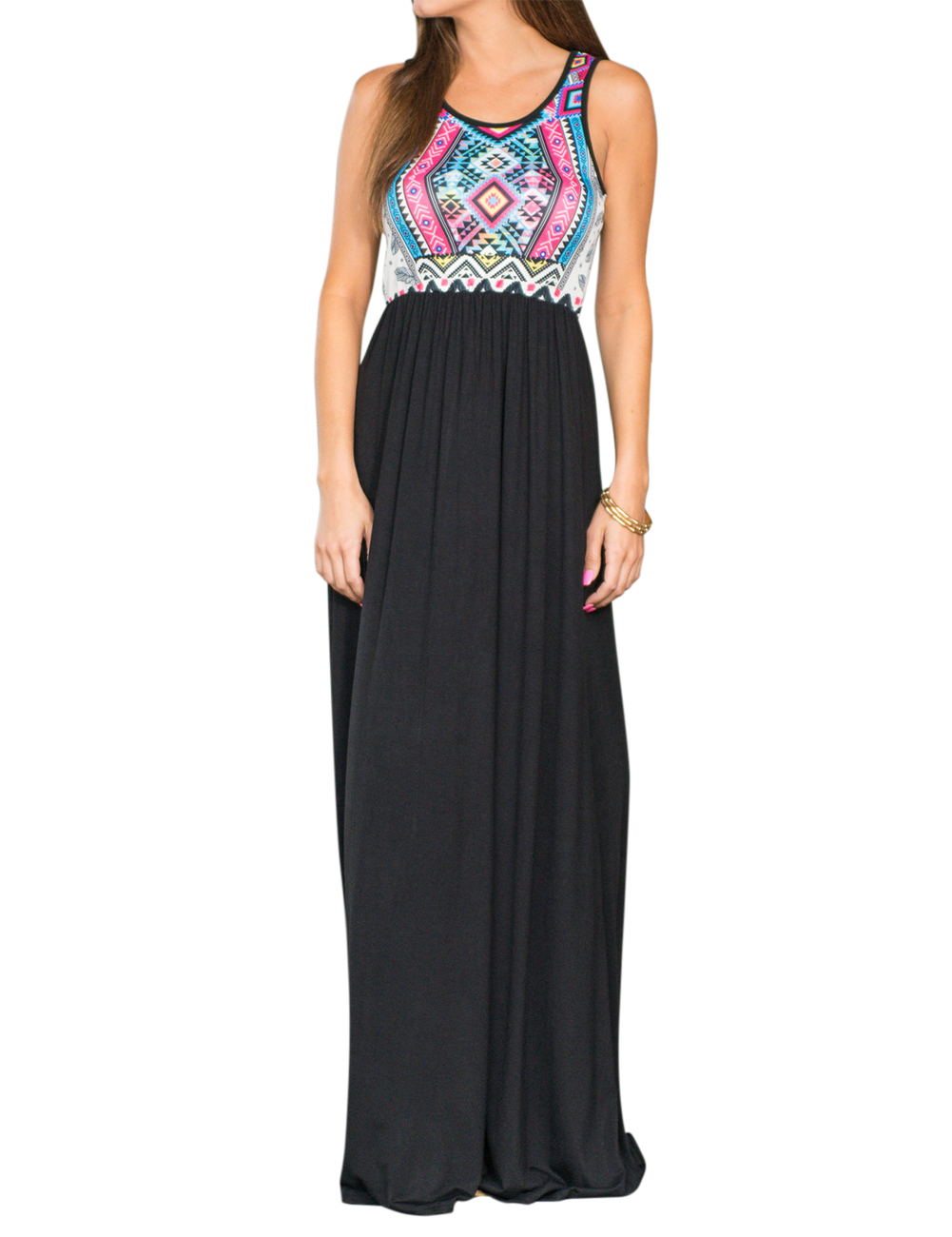 Liebeye Women Tank Maxi Dress