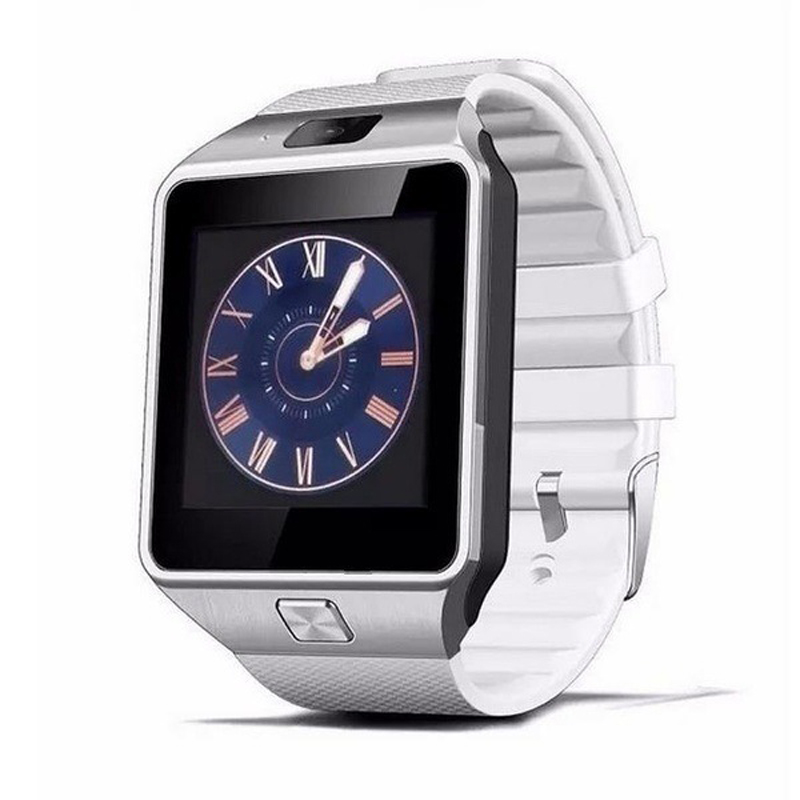 SIMU Sports Smart Watch SIM Card  Bluetooth 3.0 Message Reminder Electronic Watch white